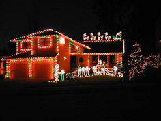 Christmas Lights on Pinterest