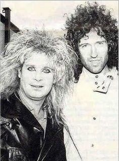 Brian May & Ozzy Osbourne