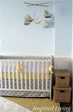 nautical nursery inspired living