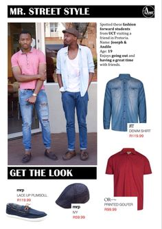 Stylish UCT students' street style from our blog @theagameblog #denim #streetstyle #mrprice #gwtthelook #style