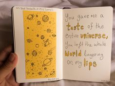 Sketchbook Inspiration - living-the-ca-life:   You gave me a taste of the...