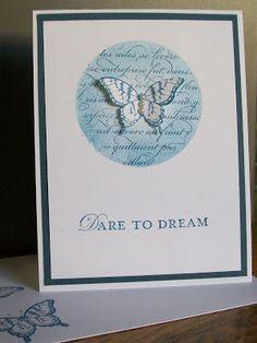 Dare to Dream  www.crazystampinglady.blogspot.com  Maureen Rauchfuss