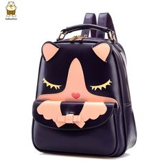 Women Leather Cartoon Backpacks School Students Japanese and Korean Fashion Famous Brand Style Travel Bags for Teenager Girls     Tag a friend who would love this!     FREE Shipping Worldwide     Buy one here---> http://onlineshopping.fashiongarments.biz/products/women-leather-cartoon-backpacks-school-students-japanese-and-korean-fashion-famous-brand-style-travel-bags-for-teenager-girls/