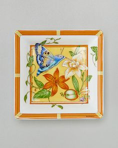 Hermes 'La Siesta' Mini Porcelain Tray