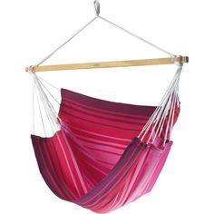 Hängesessel Grenada Streifen pink Hängesessel