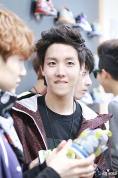 Hoseok  BTS ~ that lip bite though