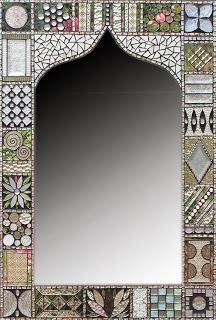 Mosaic mirror frame                                                                                                                                                                                 More