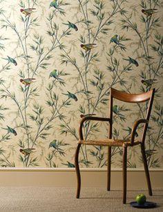 Great Ormond Street wallpaper by Little Greene Co.