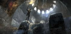 VIDEO GAMES: Chilling New RISE OF THE TOMB RAIDER Concept Art Released