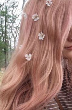 Rose Gold Hair Ideas 211