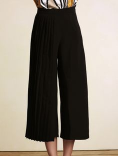 SHARE & Get it FREE | Black Pleated High Waist Wide Leg PantsFor Fashion Lovers only:80,000+ Items • New Arrivals Daily Join Zaful: Get YOUR $50 NOW!
