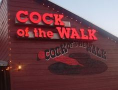 Cock of the Walk... ooohhh the fried pickles!