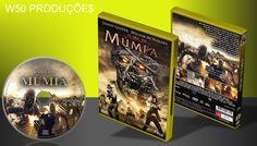 O Dia Da Múmia - CAPA - ➨ Vitrine - Galeria De Capas - MundoNet | Capas & Labels Customizados