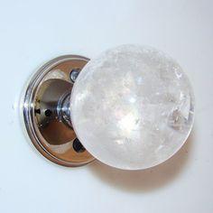 Myterra Hardware DK.P Gemstone Knob Crystal Quartz Indoor Door Handle