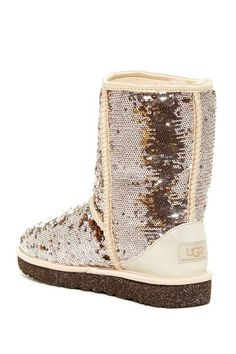 Image of UGG Australia Classic Short Sparkles Genuine Shearling Lined Boot