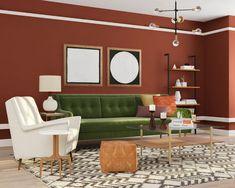 How To Make Velvet Decor Work For Your Style. Mid Century Modern ...