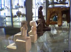 Huffington Post: Mysterious Spinning Egyptian Statue Mystery Likely To Be Stilled By Manchester Museum Repairs