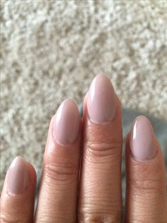 Mi amour gel polish but Perfect Match. Short almond nails