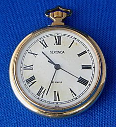 Pocketwatch 21 Jewel Retro Made In USSR Sekonda Click the image for more information. Pendant Watch, Vintage Pocket Watch, Cuppa Tea, Pocket Watches, 1950s, Jewels, Retro, Antiques, Accessories
