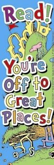 Dr. Seuss Oh The Places You'll Go Bookmarks 36 Pack $4.49