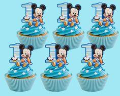 Bambino Topolino Cupcake Toppers Cupcake Pick stampabile