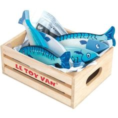 Le Toy Van Fresh Fish in a Crate