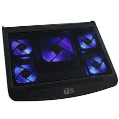 Anyone in need of a nice portable cooling pad, may be in luck. With built-in powerful fan, it can effectively prevent your laptop from overheating. The pad is connected to your laptop via a USB port, and it has low power consumption.