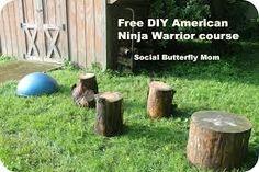 Image result for ninja warrior course for kid
