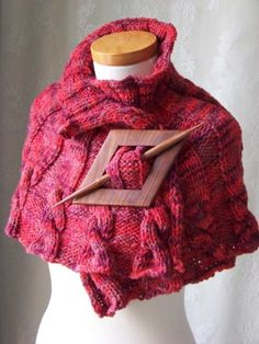 capelet pattern: if I buy the pattern and the yarn, will someone make this for me?!?