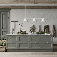 Marbodal Kök - Fagerö Interior Design Kitchen, Kitchen Decor, Kitchen Stories, Wall Treatments, My Dream Home, Home Kitchens, Sweet Home, Petra, New Homes