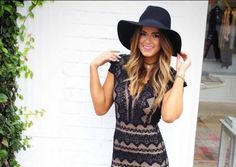 Hair. Hat. Dress  JoJo Fletcher The Bachelorette