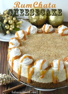 RumChata Cheesecake - Lidia's Cookbook