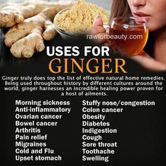 uses for ginger