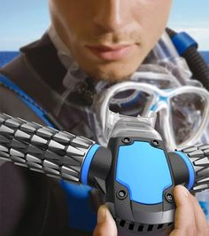 Triton Rebreather Artificial Gills Lets You Breathe Underwater With No Scuba