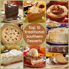 Top 10 Traditional Southern Desserts | MrFood.com