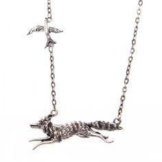 Chasing fox necklace Fox, Silver, Jewelry, Jewlery, Jewerly, Schmuck, Jewels, Jewelery, Foxes