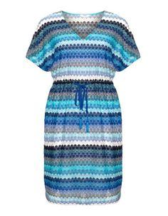 Multicoloured crochet dress by Persona. Shop now: http://www.navabi.us(218.90 USD)