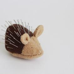How to make a porcupine pin cushion
