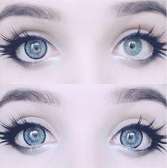 @milkwhore - instagram, eyes, pweety eyes :3