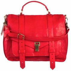 I love the Proenza Schouler PS1... it is amazing in any colour but the red is beautiful