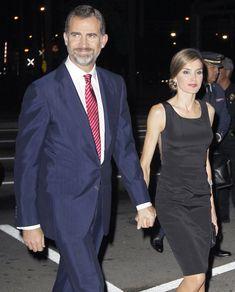 Noche con sabor español en Miami de los Príncipes de Asturias