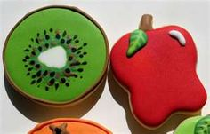 fruit shaped cookies