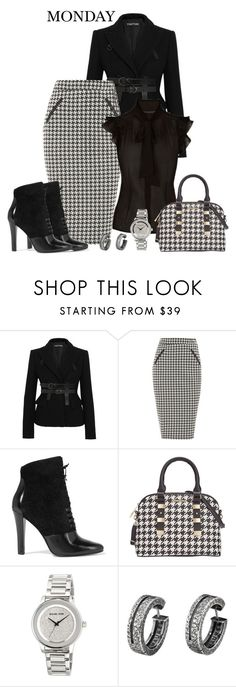 """""""Work Outfit-Monday"""" by misshonee ❤ liked on Polyvore featuring Tom Ford, Dorothy Perkins, 3.1 Phillip Lim, Rampage and MICHAEL Michael Kors"""
