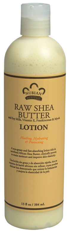 Nubian Heritage Raw Shea Butter Lotion