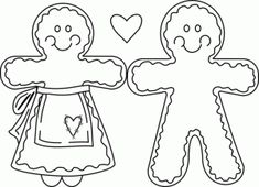 Printable Gingerbread Girl Coloring Pages For Kidsprint Out