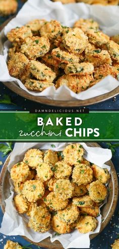 45 minutes · Vegetarian · Serves 8 · Find out the secret to the BEST zucchini chips! Perfectly seasoned, crunchy, and crisp, no one would ever guess they are completely baked. Enjoy this summer recipe as a delicious side dish or a family… Easy Appetizer Recipes, Vegetarian Recipes Easy, Great Recipes, Simple Recipes, Vegan Meals, Amazing Recipes, Appetizers, Zucchini Chips Recipe, Bake Zucchini