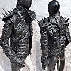 Apocalyptic Clothing, Apocalyptic Fashion, Goth Club, Meat Dress, Heavy Metal Fashion, Fantasy Dress, Cybergoth, Punk Fashion, Rockabilly Fashion
