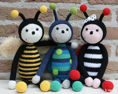 How cute are these bees!