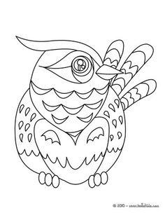 Nightingale coloring page Nice bird coloring sheet More original