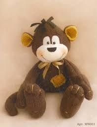 Картинки по запросу текстильная обезьянка выкройка